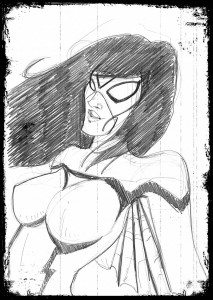 Spiderwoman & … dans Fan' Art 20131023_spiderwoman_021-213x300